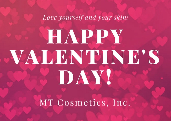 Happy Valentine's day from MT Cosmetics, Inc.
